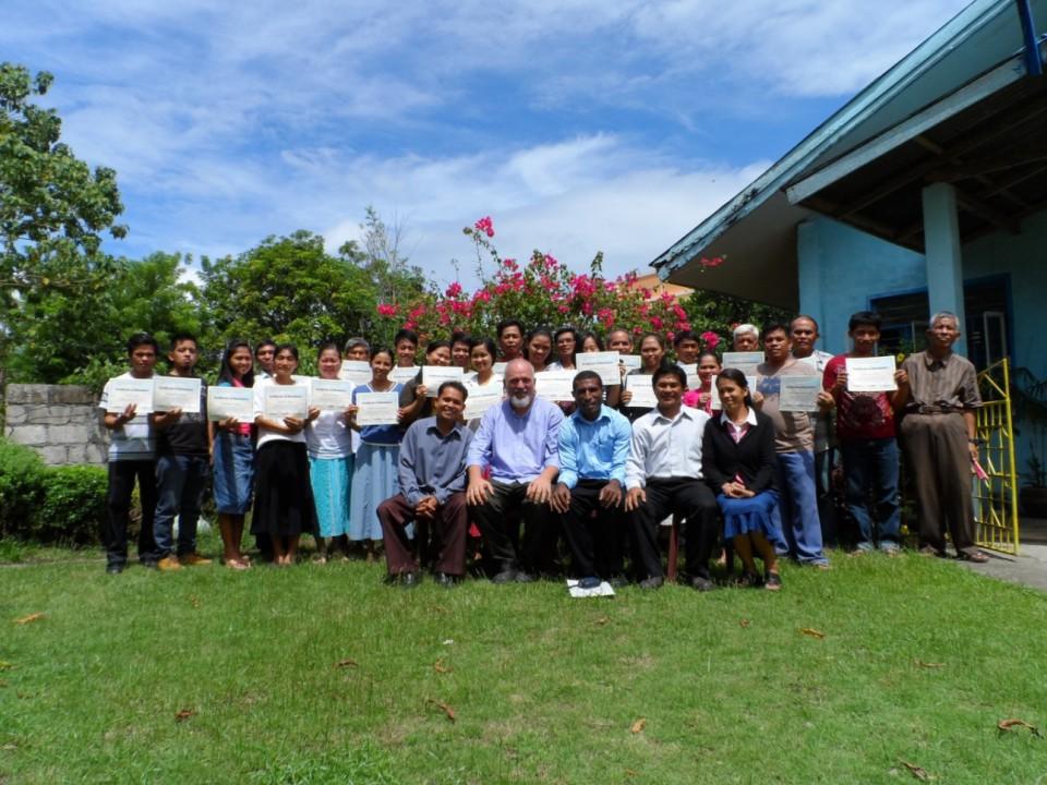 Graduates__Organic Farming Seminar__Philippines 2014