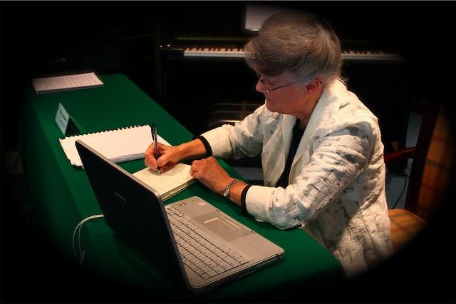 Elsa Burec__stenographer for the GC Session__Korea