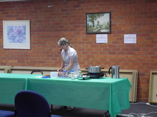 Cooking Demo in Griffith__Esther
