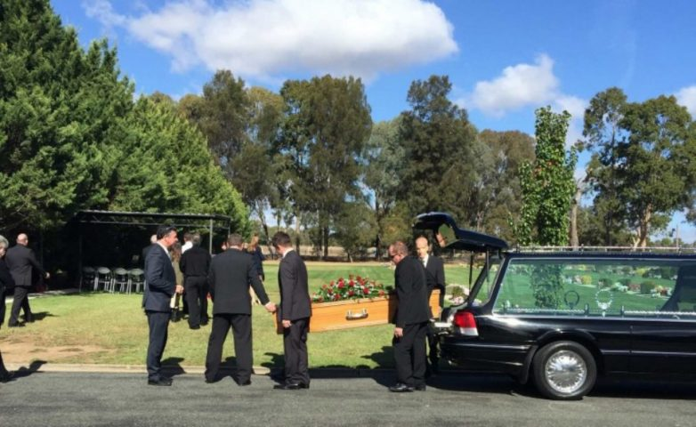 Keith Durham's Funeral