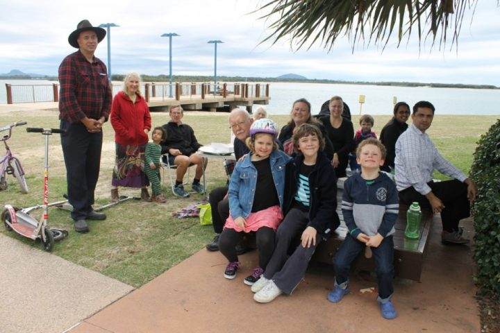 Picnic lunch at Cotton Tree